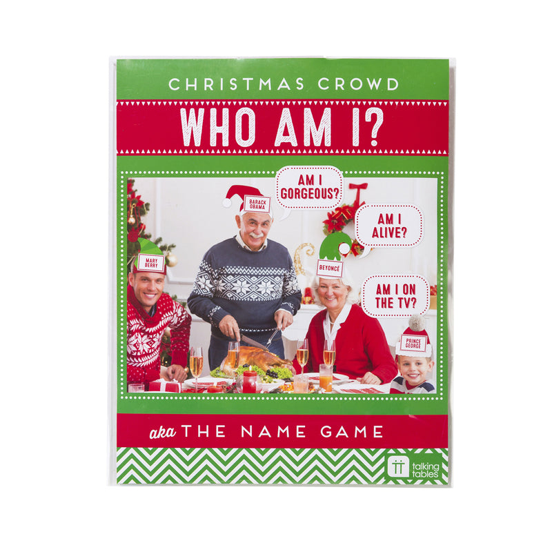 CHRISTMAS ENTERTAINMENT WHO AM I? from Flingers Party World Bristol Harbourside who offer a huge range of fancy dress costumes and partyware items