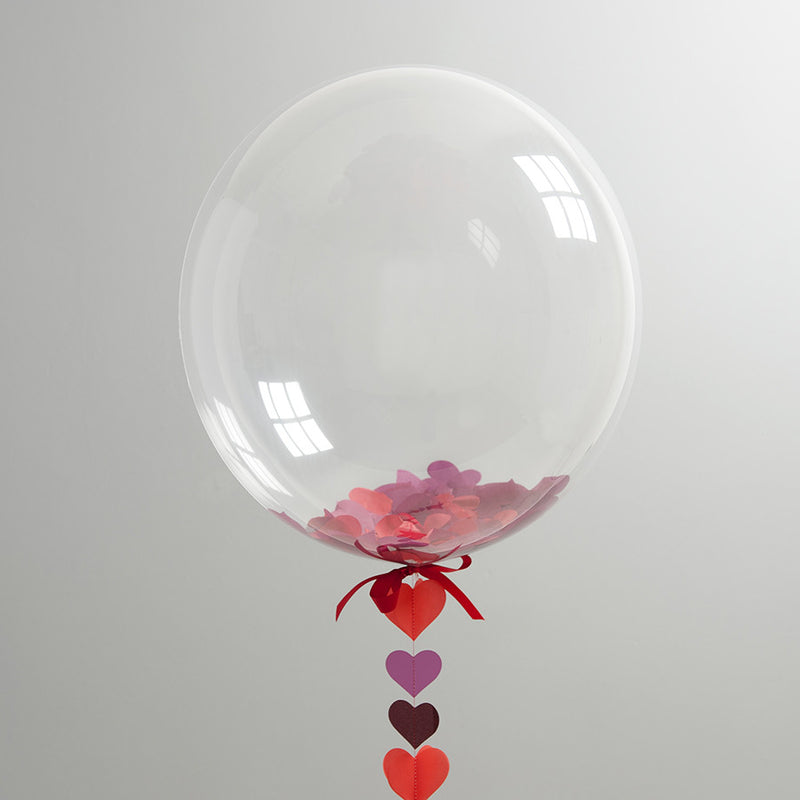 BUBBLEGUM RED HEART BALLOON from Flingers Party World Bristol Harbourside who offer a huge range of fancy dress costumes and partyware items