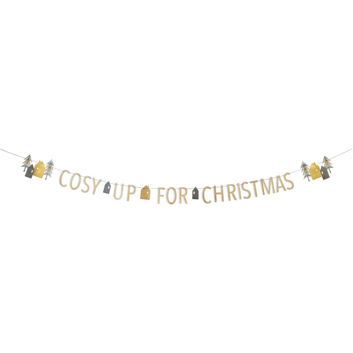 NORDIC CHRISTMAS PAPER GARLAND from Flingers Party World Bristol Harbourside who offer a huge range of fancy dress costumes and partyware items