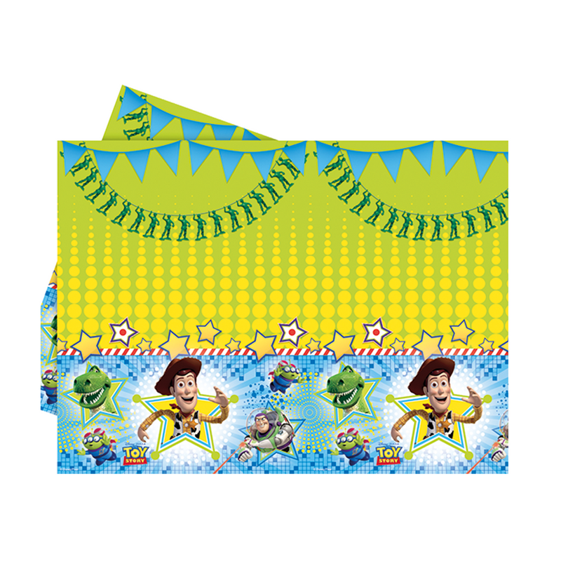 Toy Story Star Power Party Table Cover 1CT from Pop Cloud Bristol who offer a huge range of partyware, wedding and event hire decorations