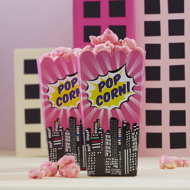POP ART PARTY POPCORN BOXES from Flingers Party World Bristol Harbourside who offer a huge range of fancy dress costumes and partyware items