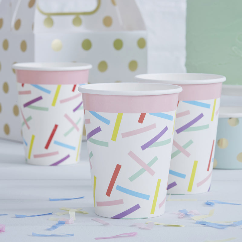 PICK AND MIX SPRINKLES PAPER CUPS
