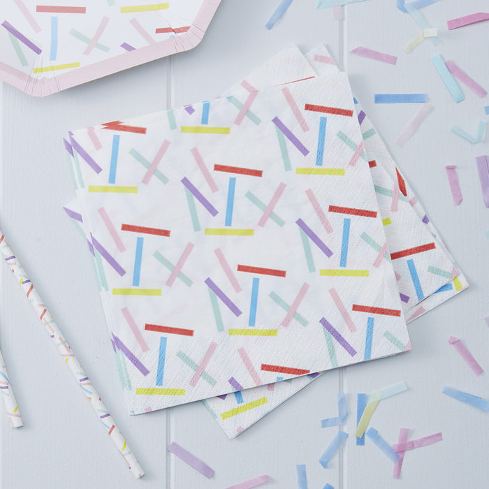PICK AND MIX SPRINKLES NAPKINS
