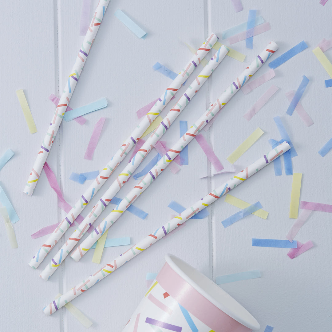 PICK AND MIX SPRINKLES STRAWS
