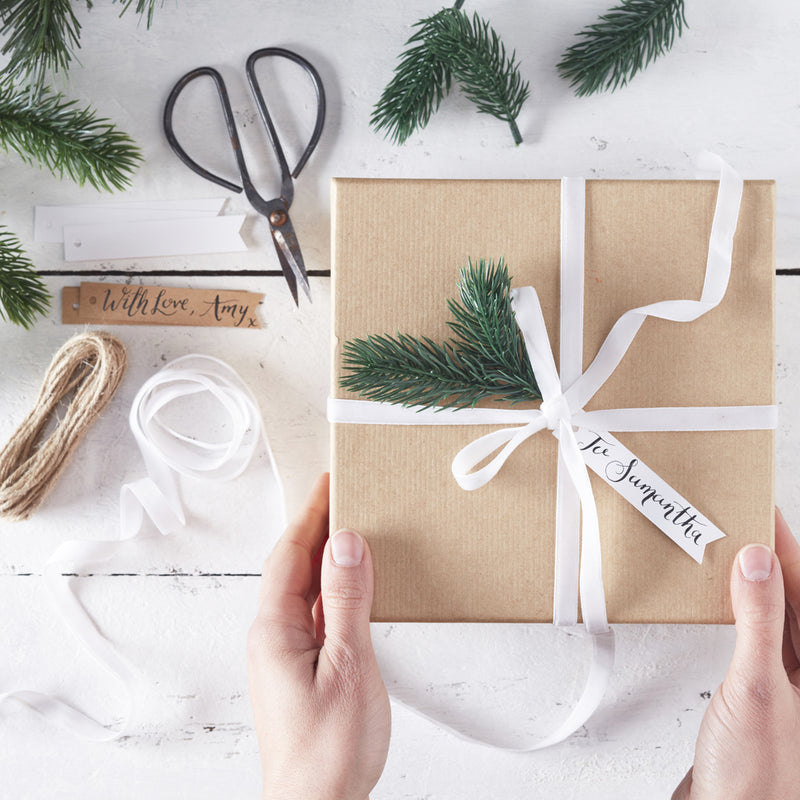 RUSTIC CHRISTMAS WRAPPING KIT from Flingers Party World Bristol Harbourside who offer a huge range of fancy dress costumes and partyware items