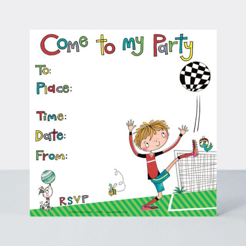 COME TO MY PARTY INVITATIONS from Flingers Party World Bristol Harbourside who offer a huge range of fancy dress costumes and partyware items