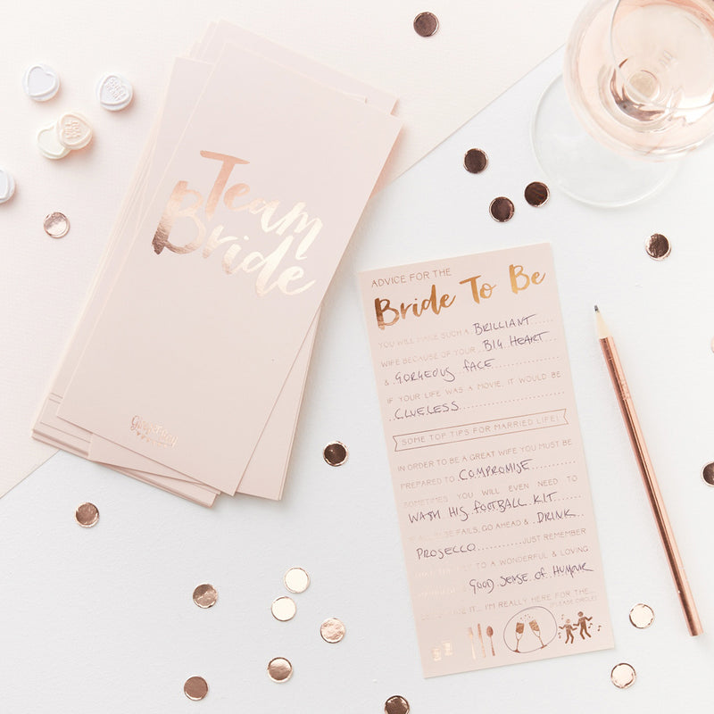 ADVICE FOR THE BRIDE TO BE CARD from Flingers Party World Bristol Harbourside who offer a huge range of fancy dress costumes and partyware items