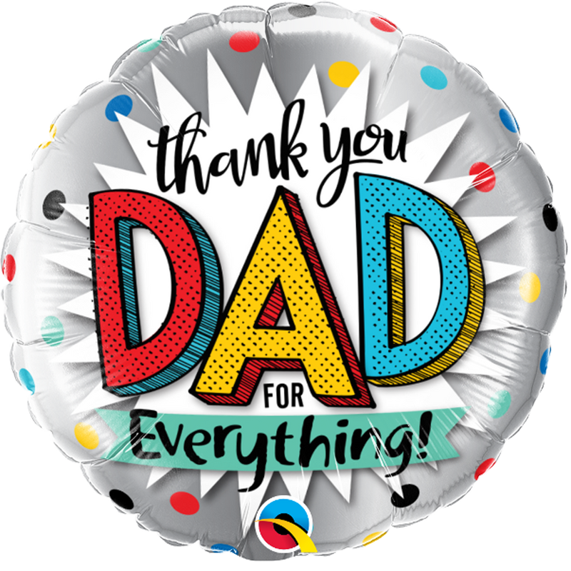 THANK YOU DAD from Flingers Party World Bristol Harbourside who offer a huge range of fancy dress costumes and partyware items