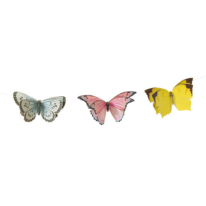 TRULY FAIRY BUTTERFLY BUNTING from Flingers Party World Bristol Harbourside who offer a huge range of fancy dress costumes and partyware items
