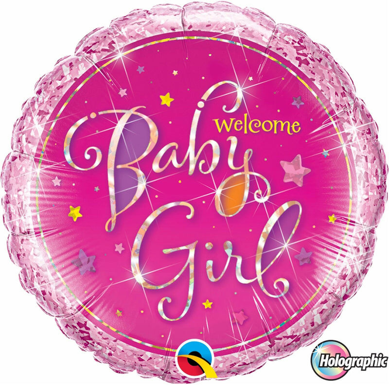 WELCOME BABY GIRL from Flingers Party World Bristol Harbourside who offer a huge range of fancy dress costumes and partyware items