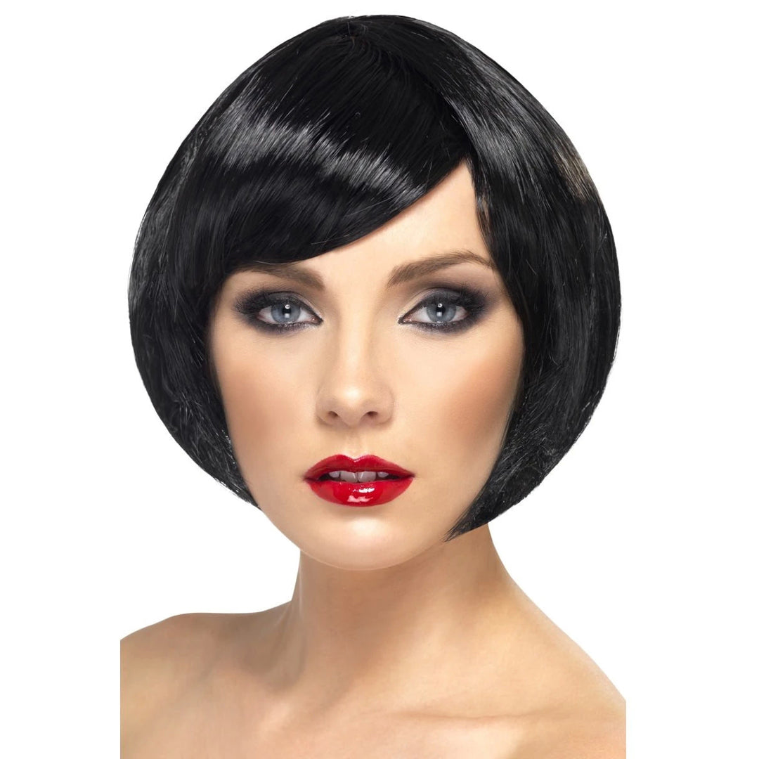 BABE WIG BLACK from Flingers Party World Bristol Harbourside who offer a huge range of fancy dress costumes and partyware items
