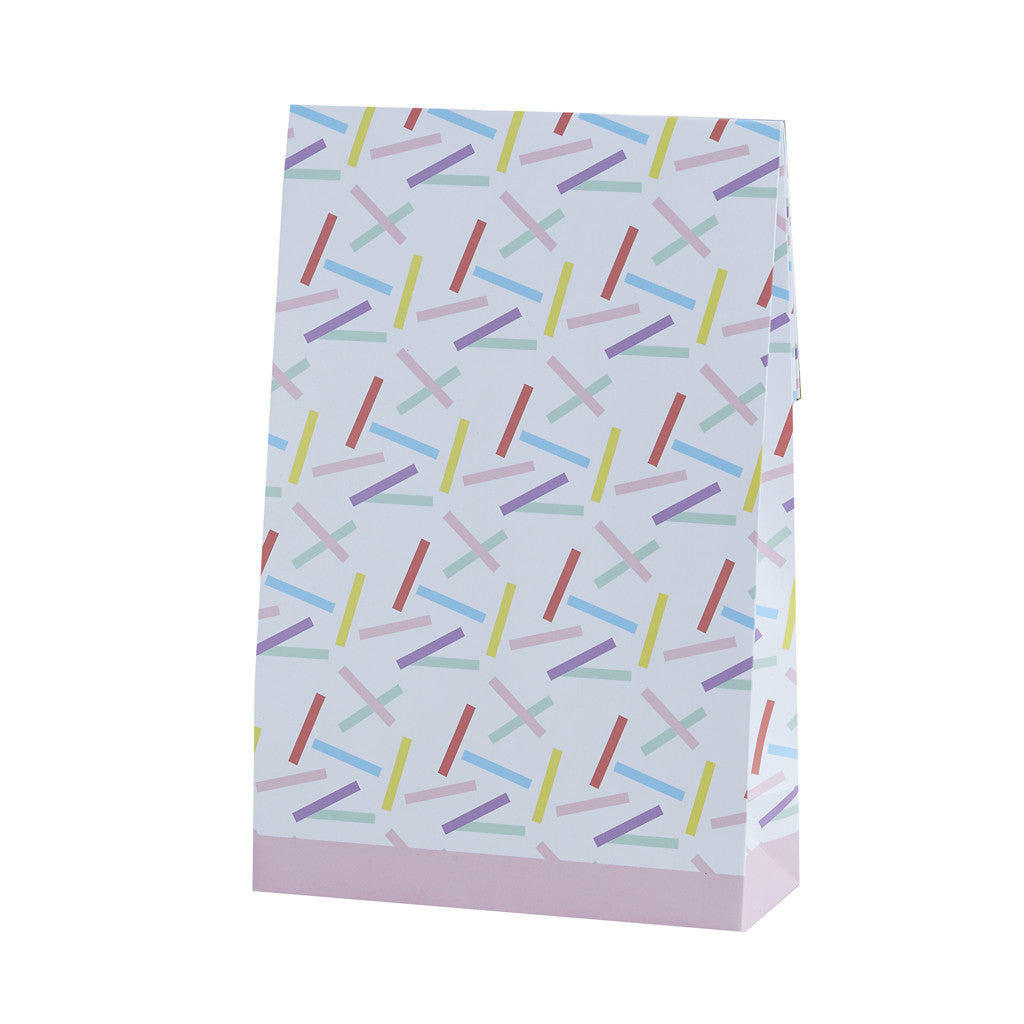 Pick & Mix Sprinkles Party Bags from Pop Cloud Bristol who offer a huge range of partyware, wedding and event hire decorations