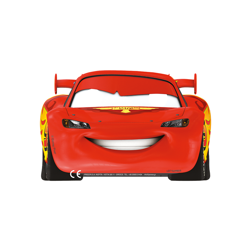 Pixar Cars Party Masks 6ct from Pop Cloud Bristol who offer a huge range of partyware, wedding and event hire decorations