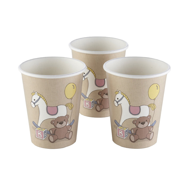 ROCK-A-BYE BABY PAPER CUPS from Flingers Party World Bristol Harbourside who offer a huge range of fancy dress costumes and partyware items