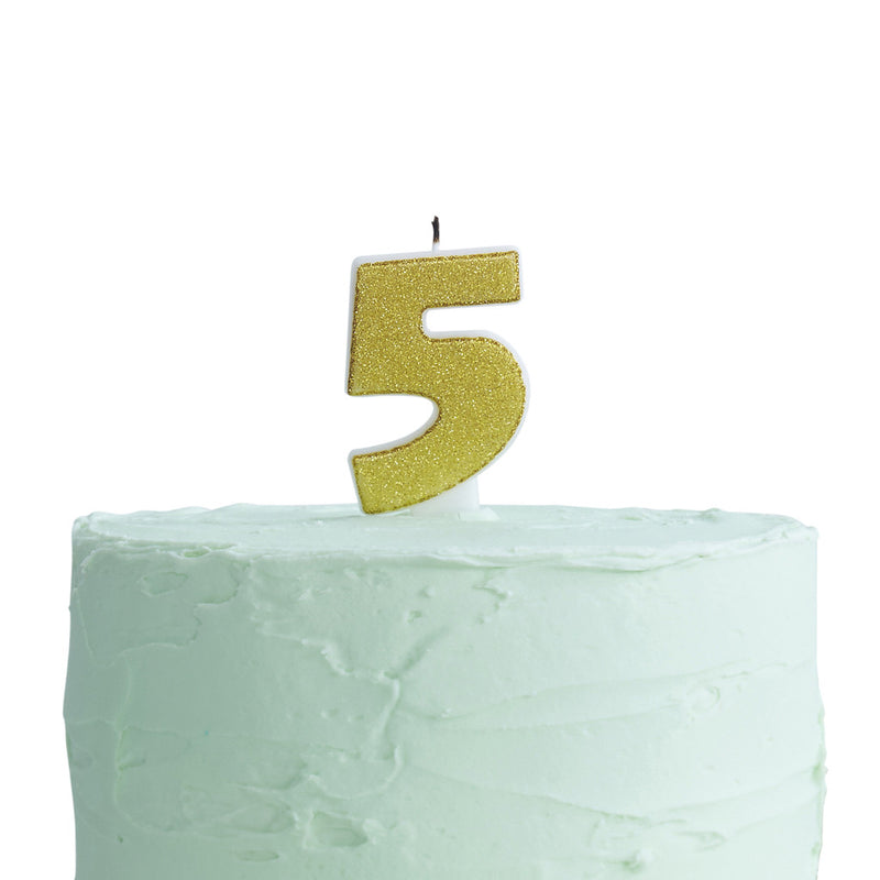 Pick & Mix Candle Number 5 from Pop Cloud Bristol who offer a huge range of partyware, wedding and event hire decorations