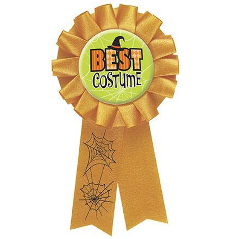 BEST COSTUME AWARD RIBBON from Flingers Party World Bristol Harbourside who offer a huge range of fancy dress costumes and partyware items
