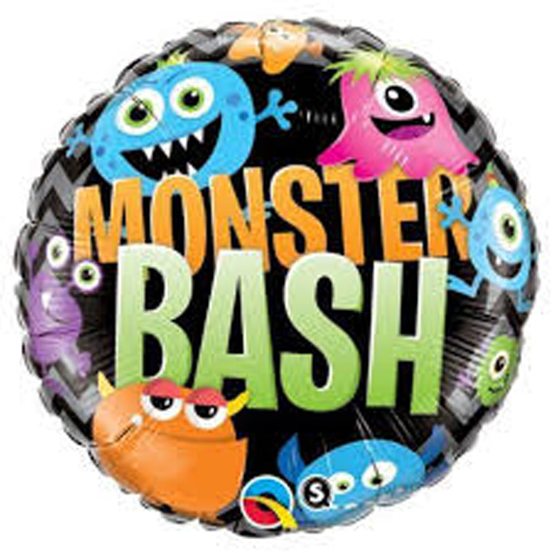 MONSTER BASH FOIL BALLOON from Flingers Party World Bristol Harbourside who offer a huge range of fancy dress costumes and partyware items