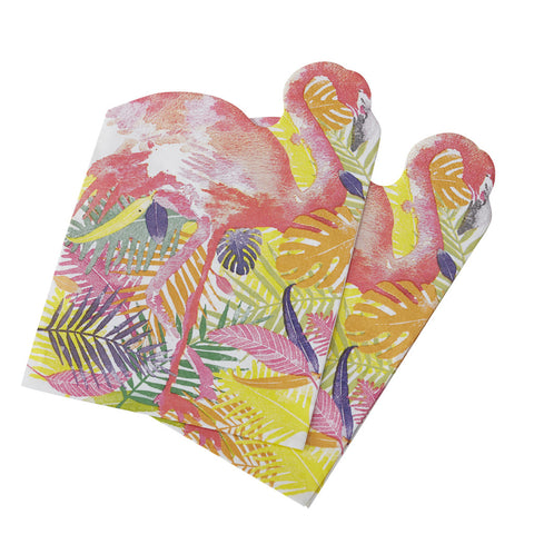 Flamingo Fun Napkins from Pop Cloud Bristol who offer a huge range of partyware, wedding and event hire decorations