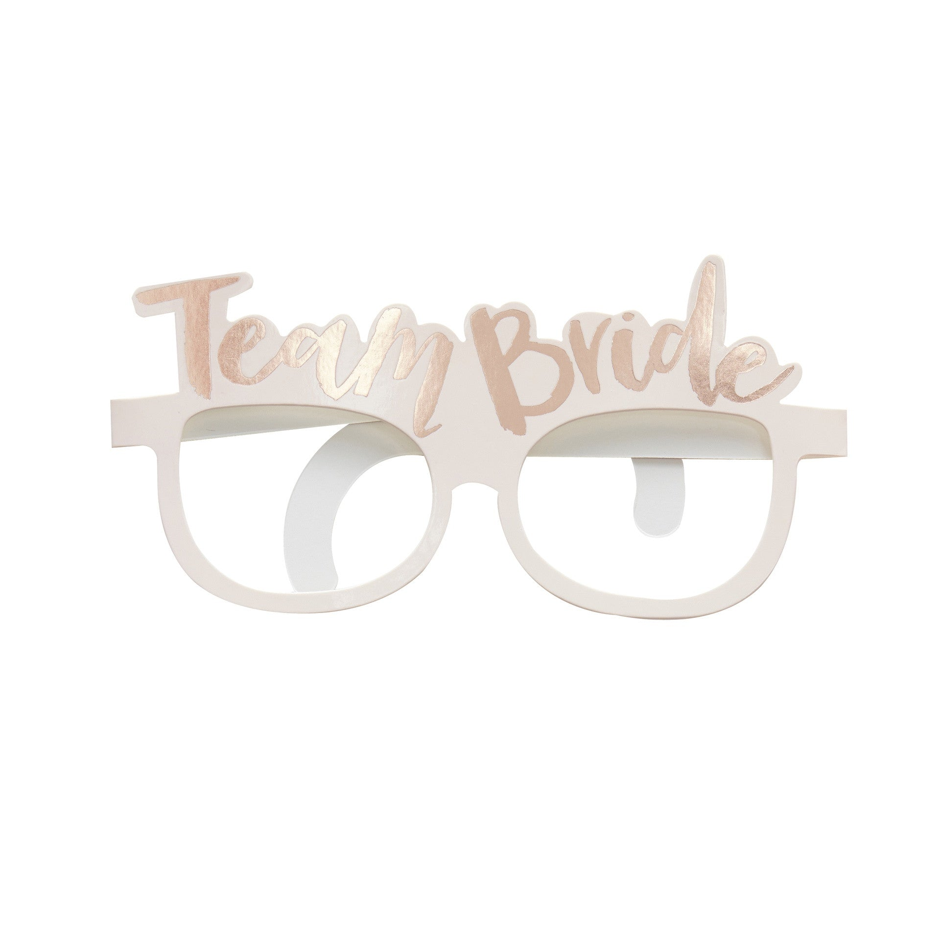 TEAM BRIDE GLASSES from Pop Cloud Bristol who offer a huge range of fancy dress costumes and partyware items