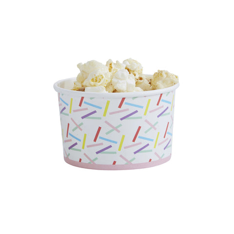 Pick & Mix Sprinkles Treat Tubs from Pop Cloud Bristol who offer a huge range of partyware, wedding and event hire decorations