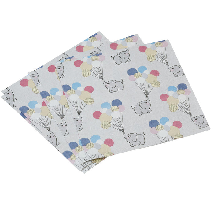Little One Napkins from Pop Cloud Bristol who offer a huge range of partyware, wedding and event hire decorations