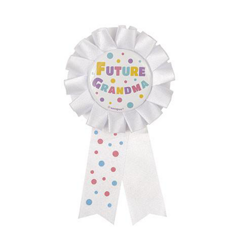 FUTURE GRANDMA AWARD RIBBON from Flingers Party World Bristol Harbourside who offer a huge range of fancy dress costumes and partyware items