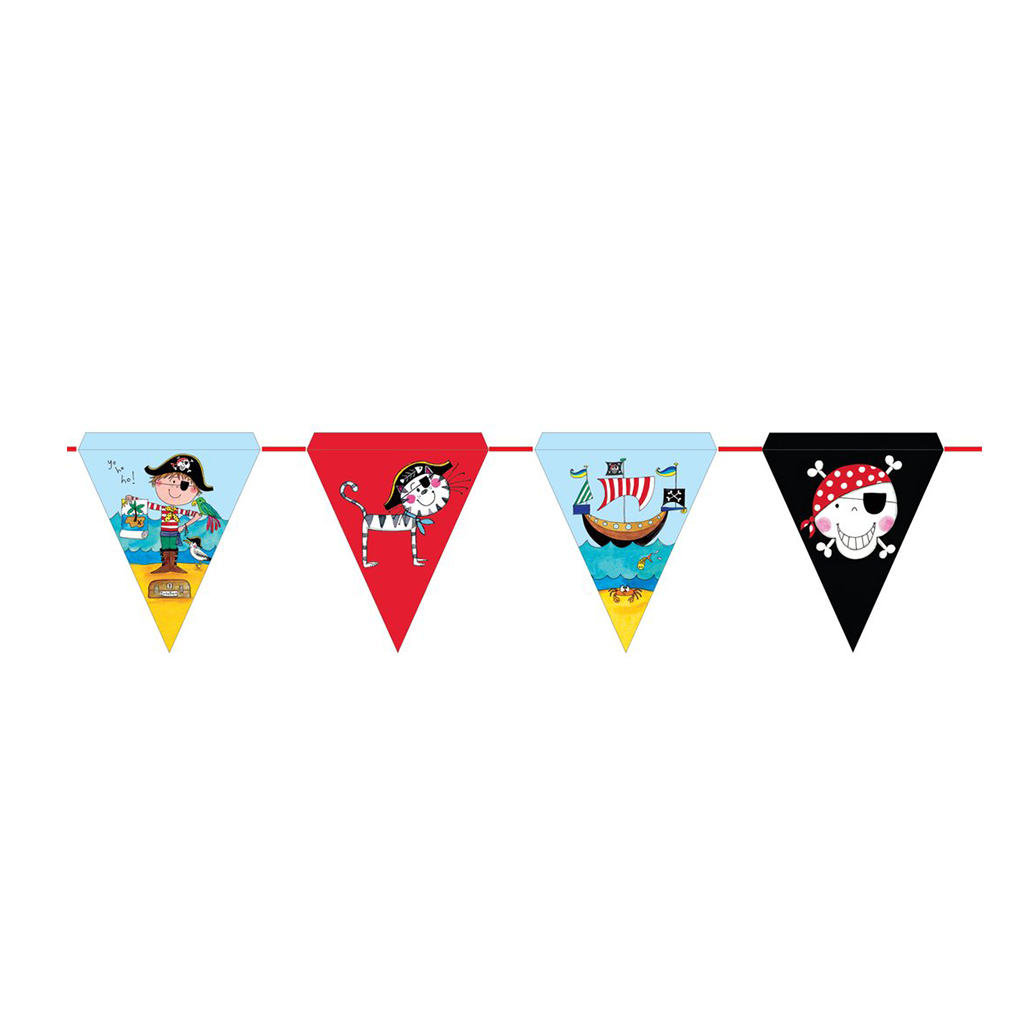 Rachel Ellen Pirate Bunting 01CT from Pop Cloud Bristol who offer a huge range of partyware, wedding and event hire decorations