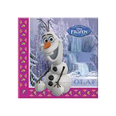 Disney Frozen Napkins from Pop Cloud Bristol who offer a huge range of partyware, wedding and event hire decorations