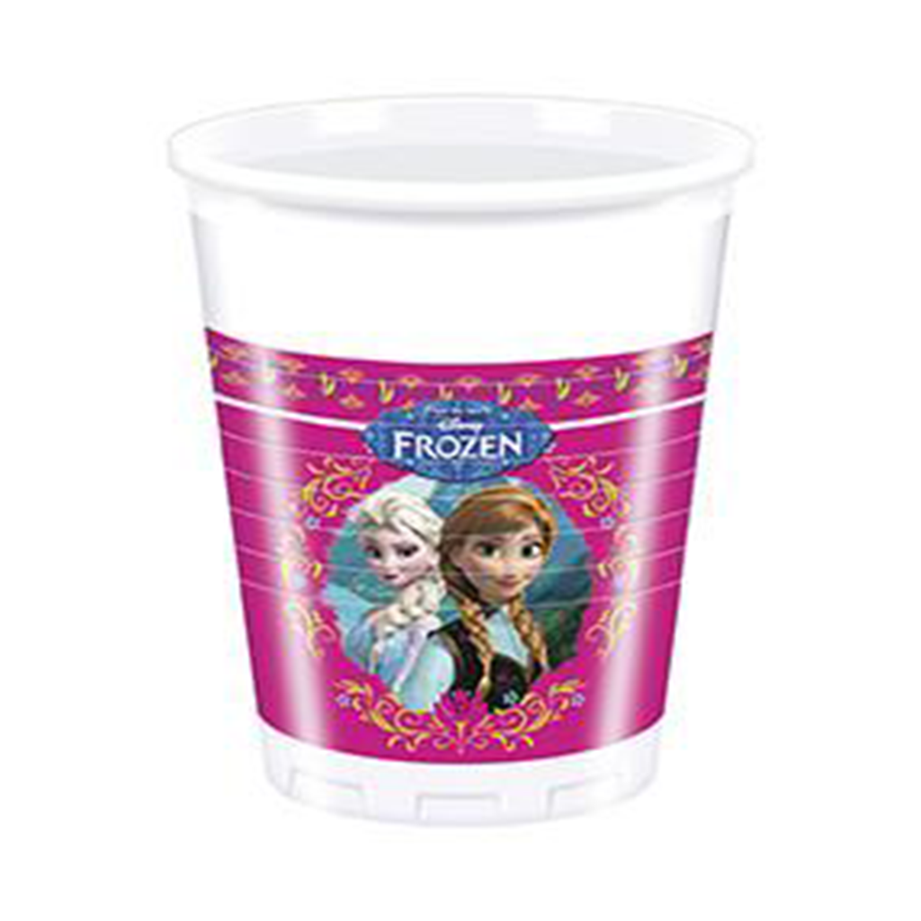DISNEY FROZEN PLASTIC CUPS from Flingers Party World Bristol Harbourside who offer a huge range of fancy dress costumes and partyware items
