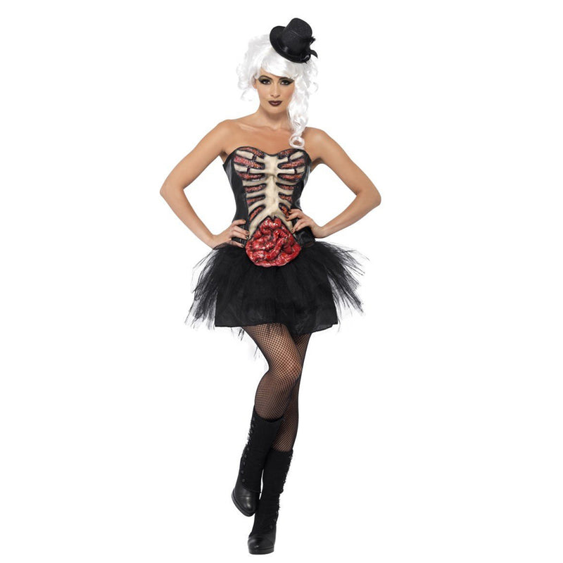 GROTESQUE BURLESQUE CORSET from Flingers Party World Bristol Harbourside who offer a huge range of fancy dress costumes and partyware items