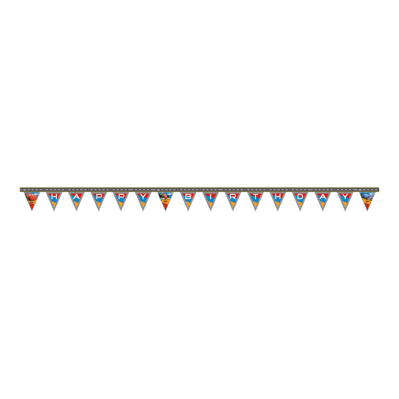 DISNEY/PIXAR CARS HAPPY BIRTHDAY BANNER from Flingers Party World Bristol Harbourside who offer a huge range of fancy dress costumes and partyware items