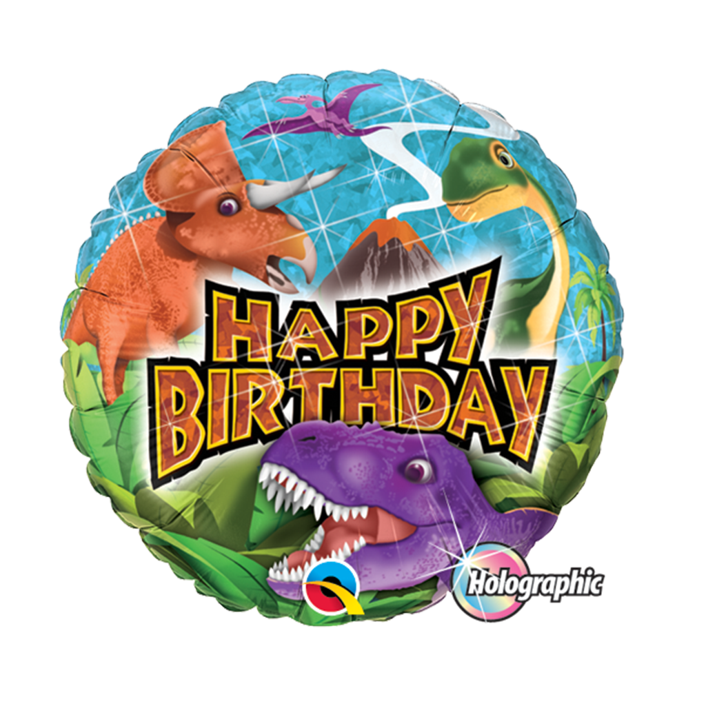 BIRTHDAY DINOSAURS from Flingers Party World Bristol Harbourside who offer a huge range of fancy dress costumes and partyware items
