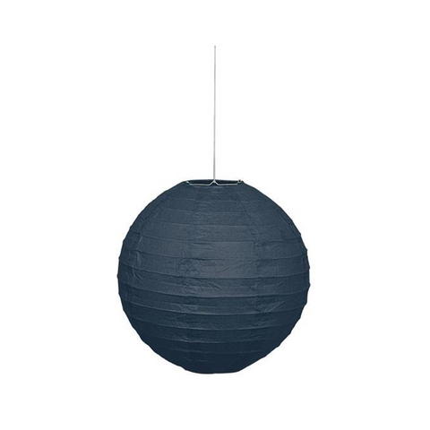 "Lantern Round 10"" Black from Pop Cloud Bristol who offer a huge range of partyware, wedding and event hire decorations"