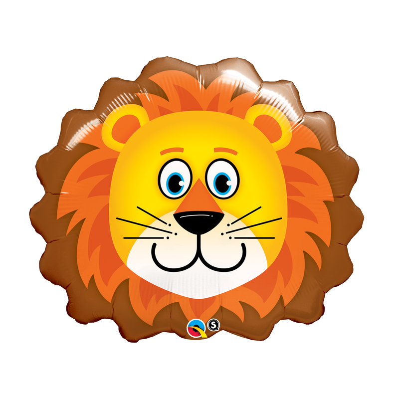 "LOVABLE LION 29"" SHAPE from Flingers Party World Bristol Harbourside who offer a huge range of fancy dress costumes and partyware items"