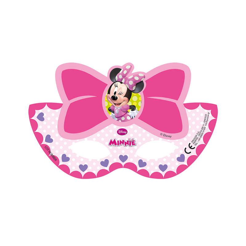 DISNEY MINNIE PARTY MASKS from Flingers Party World Bristol Harbourside who offer a huge range of fancy dress costumes and partyware items