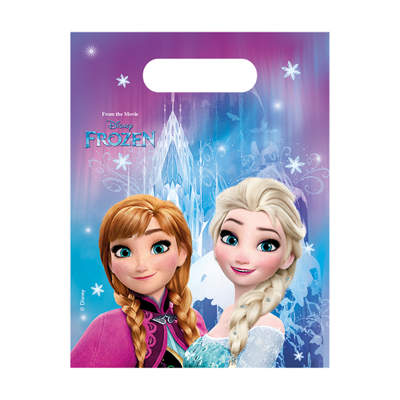 Party Bags 6ct Disney Frozen from Pop Cloud Bristol who offer a huge range of partyware, wedding and event hire decorations