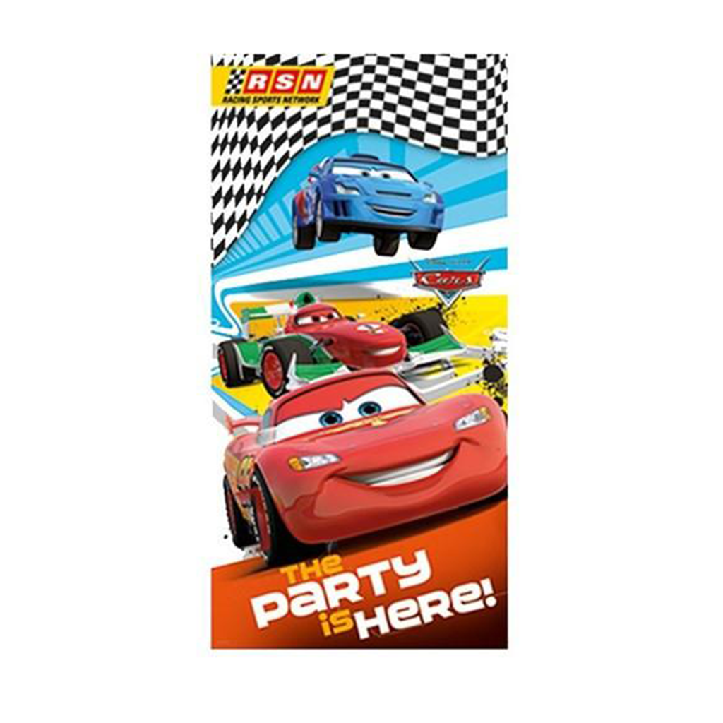 DISNEY/PIXAR CARS DOOR BANNER from Flingers Party World Bristol Harbourside who offer a huge range of fancy dress costumes and partyware items