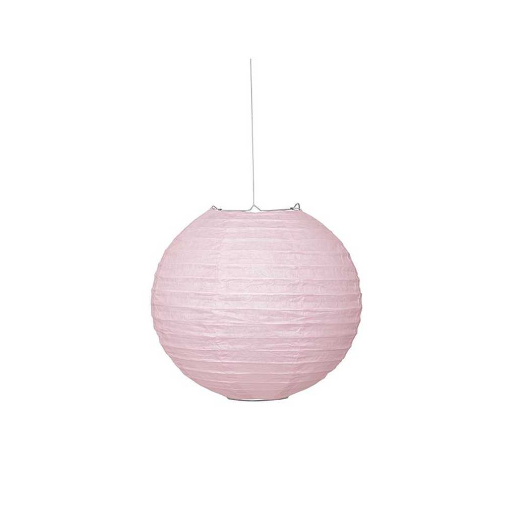 "Lantern Round 10"" Lovely Pink from Pop Cloud Bristol who offer a huge range of partyware, wedding and event hire decorations"