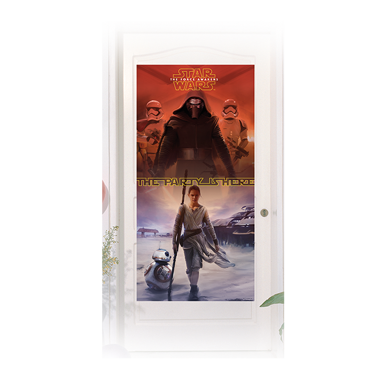 STAR WARS THE FORCE AWAKENS DOOR BANNER 1CT