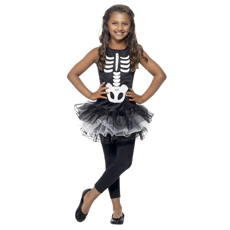 SKELETON TUTU COSTUME from Flingers Party World Bristol Harbourside who offer a huge range of fancy dress costumes and partyware items