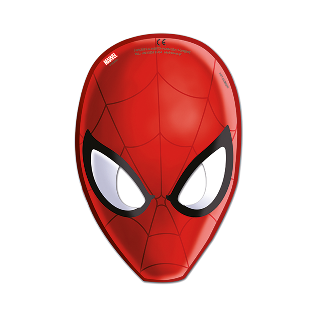 Ultimate Spiderman Party Masks 6CT from Pop Cloud Bristol who offer a huge range of partyware, wedding and event hire decorations