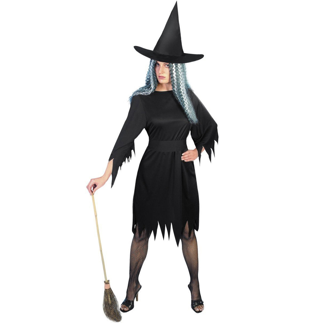 SPOOKY WITCH COSTUME from Flingers Party World Bristol Harbourside who offer a huge range of fancy dress costumes and partyware items