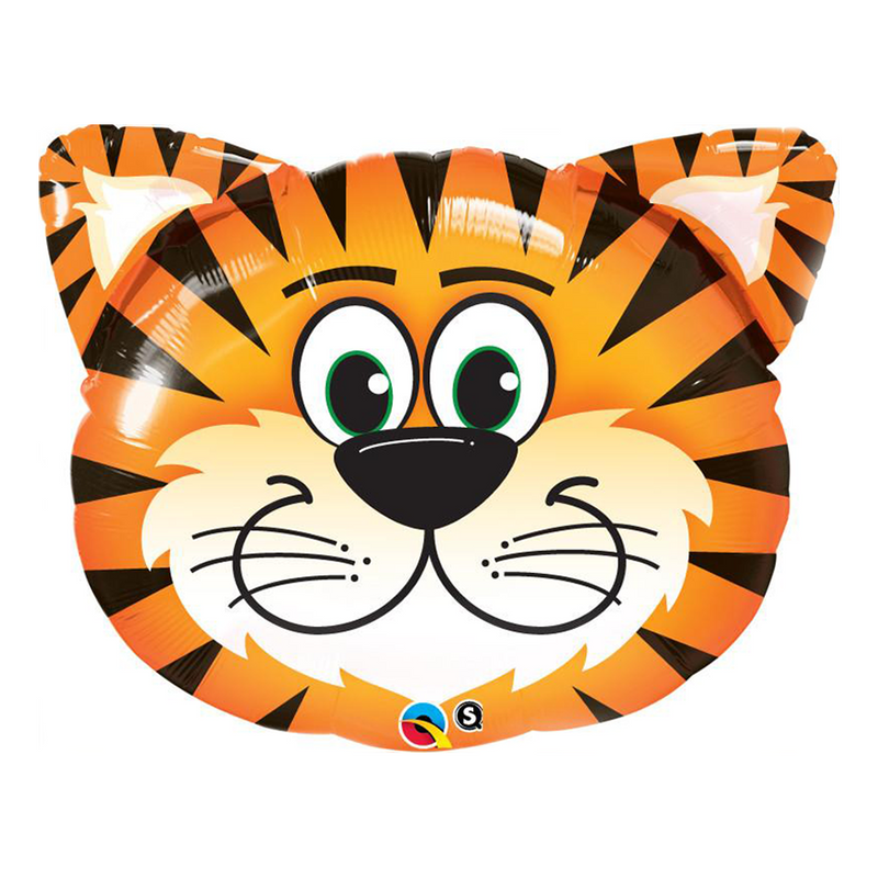 "TICKLED TIGER 30"" SHAPE from Flingers Party World Bristol Harbourside who offer a huge range of fancy dress costumes and partyware items"