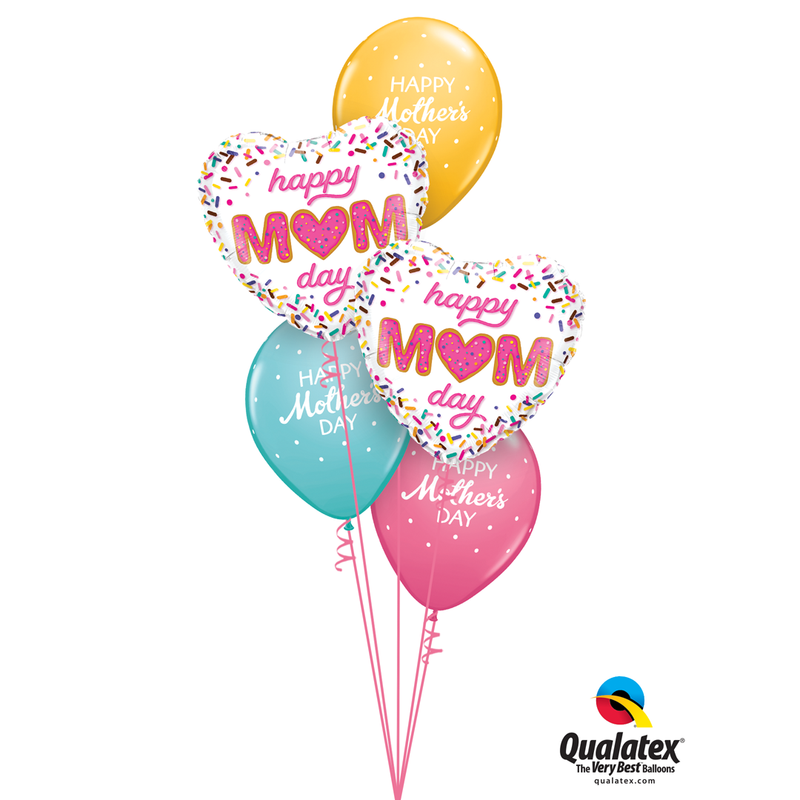 LOVE YOU MOM BALLOON BOUQUET from Flingers Party World Bristol Harbourside who offer a huge range of fancy dress costumes and partyware items