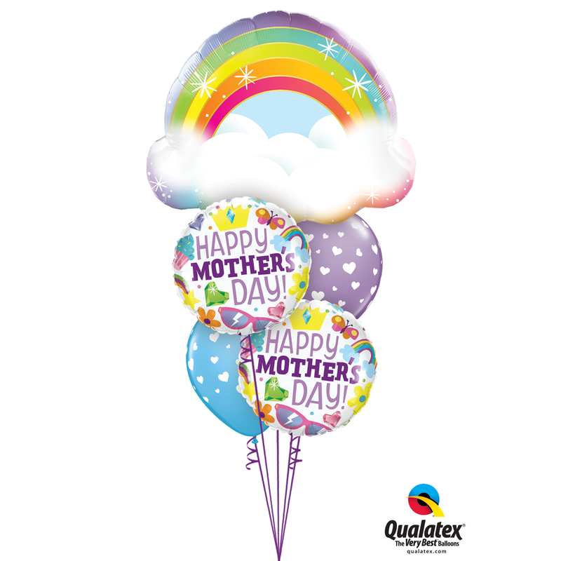 MOMS ARE MAGICAL BALLOON BOUQUET from Flingers Party World Bristol Harbourside who offer a huge range of fancy dress costumes and partyware items