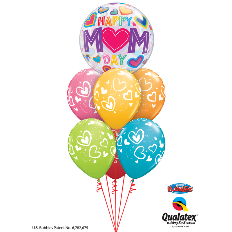 100% LOVED BALLOON BOUQUET from Flingers Party World Bristol Harbourside who offer a huge range of fancy dress costumes and partyware items