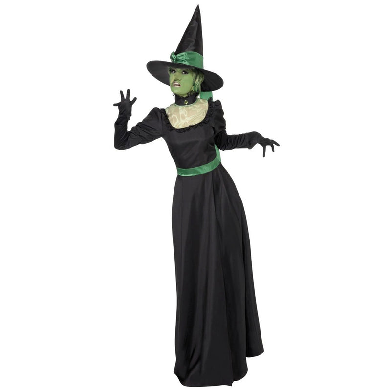 BLACK WITCH COSTUME from Flingers Party World Bristol Harbourside who offer a huge range of fancy dress costumes and partyware items