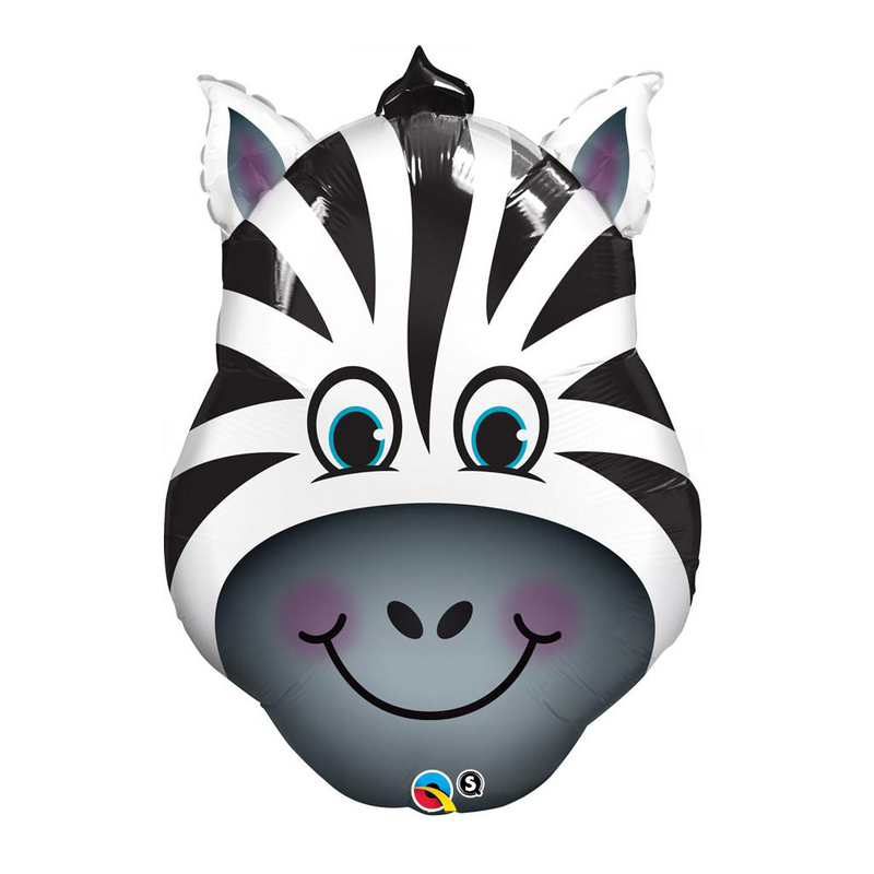 ZANY ZEBRA SHAPE from Flingers Party World Bristol Harbourside who offer a huge range of fancy dress costumes and partyware items