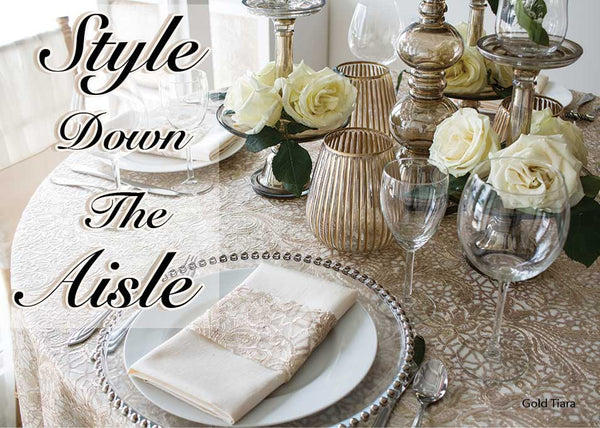 Style Down The Aisle