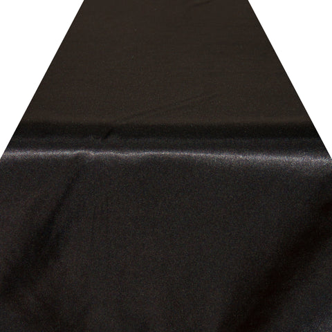 Black Satin Runner